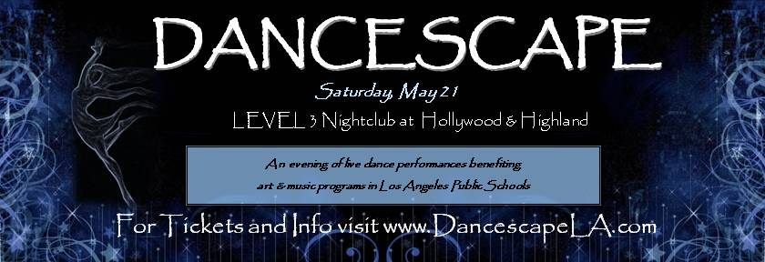 Dancescape XII Flyer
